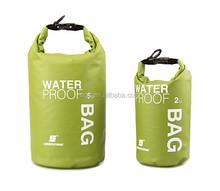 5L transparent PVC mesh dry bag with shoulder strap for outdoor sports and storage,put your phone,camara,keys,pocket inside!