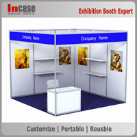 3x3 or 10x10 exhibition booth or shell scheme booth