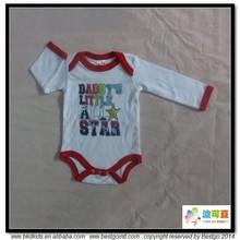 BKD costilla de algodón monos ropa para bebé