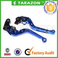 Aluminum extendable folding brake clutch lever for honda crf