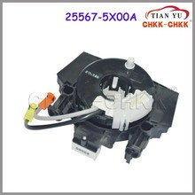 Auto Parts clock spring Airbag coil For Japanese Car sprial cable sub-assy clock spring 25567-5X00A