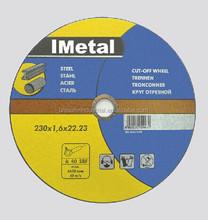 Top quality MPA EN Standard 80 m/s*1.88 Speed Best Price abrasive metal cutting disc