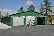 6X10X2.6M metal car garage/portable steel warehouse