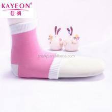 Cooling gel meias para pés seco mulheres spa socks gel com gel paded