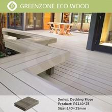 Modern European style, waterproof outdoor wpc flooring decorate garden balcony or countyard, plastic wood composite sheet