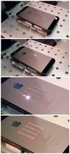 phone flip screen protector / wedding ring optical hobby mini electronic 30w fiber laser marking/engraving machine