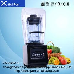 China Manufacturer Large Commercial Ice Blender Machine Electric Fruit Blender on Sale
