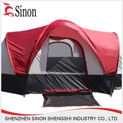 wholsale polyester tent canvas fabric 4 person tent house