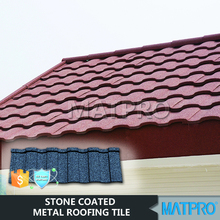 terracotta kerala stone coated metal roof tile edging