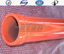 Concrete pump twin wall pipe / wear resistent pipe