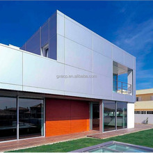 High quality wall facade fire rating 4mm PVDF aluminum composite panel