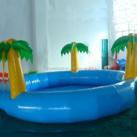 2015 inflatable palm tree pool float