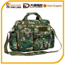 2015 designer fashion foldable durable camouflage nylon travel bag