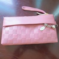 Hot selling cheap price fashion ladies pretty cion case handmade elegant smart leather women wallet