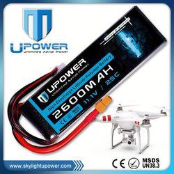 Upower 2200mah 3s1p 2250mah lipo battery pack for UAV FPV airplane models