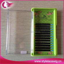 Factory price custom package hand made mink eyelashes
