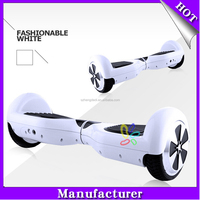 White color 6.5 inch electric scooter,2 wheel self balance scooter,hoverboard sport entertainment skateboard USA free shipping