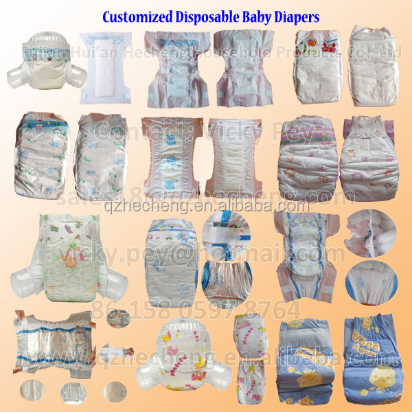 Disposable Sleepy baby diaper for baby