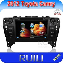"double din 8"" car dvd radio for toyota Camry 2012 with gps bluetooth ipod tv usb"