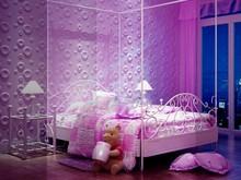Modern design 3D wall panel of embossed wallpaper