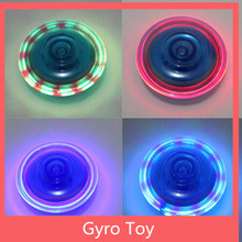 LED light up spinning top
