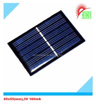 Epoxy resin 0.5W 3V mini solar panel