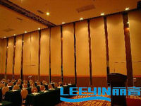 acoustic sliding folding partition fashion wall material for meeting room