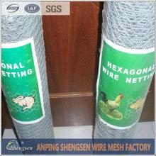 Anping shengsen chicken coop hexagonal wire mesh