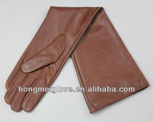HM314 Women's Long Fshion Leather Opera Gloves