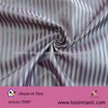 rayas patrones de tela del forro de poliéster