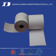 Térmica de papel de códigos de barras de billetes rollos de papel térmico 80 mm