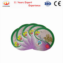 Aluminum foil lid coated pp/pe/pe/ps lacquer for yogurt cup packing