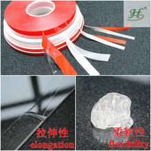 transparent automobile double sided acrylic foam tape