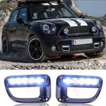 5 LED Car DRL For BMW MINI COOPER S 2012 2013 Daytime running lights