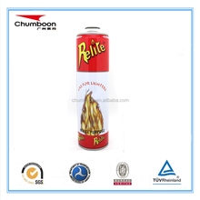 high pressure aerosol can for fire extinguisher filling