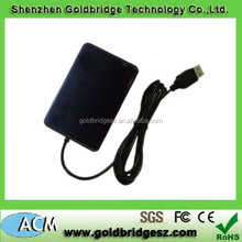 Top grade professional usb magnetic card reader for pc case