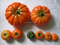 small size foam craft pumpkins