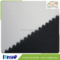 Woven fusible cotton/polyester interlining