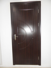 2015 new design latest cheap PVC interior double sliding door price internal pvc wooden door for living room/bathroom/shower