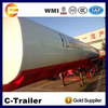 35000L widely used oil tanker semi trailer 2 axles popular 35m3 fuel tank trailer for sale