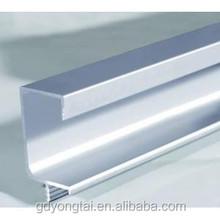 Building and construction profile aluminum