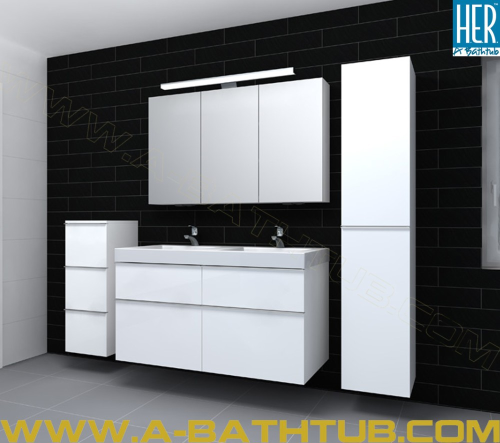 A Bathtub Factory Made European Style Wall Mounted Bathroom Cabinet Combo 311202 Buy Factory