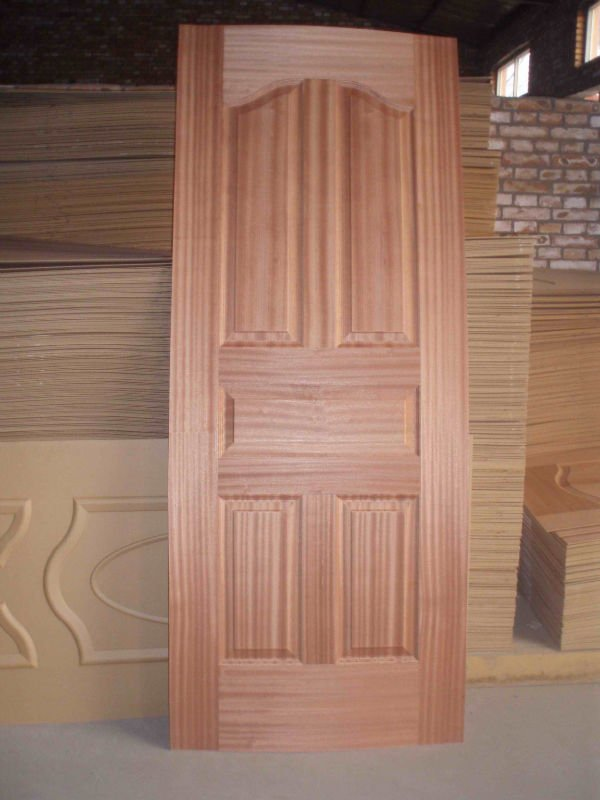 Mahogany veneer hdf door skin buy mahogany door skin for Mahogany door skin