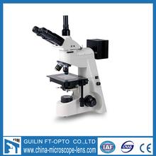 upright binocular trinocular metallurgical microscope with reflection and transmission light FD12146J