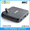 Top Selling M8C android tv box free hd indian porn video 2015 best Amlogic S802 2g 8g BT 4.0 5ghz WiFi Android Set Top Box