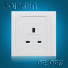 3-feet square british wall socket LNC3F
