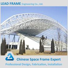 Beautiful metal roof building bleacher steel truss roof
