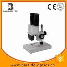 (BM-XT-2B)40X 2015 New Hot Selling Binocluar zoom stereo light illuminated microscope for industry