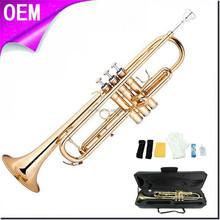 Golden Color Trumpet, Ideal for student beginner