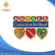 custom lpn nurses soft enamel lapel pins